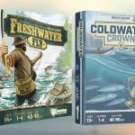 Coldwater Crown et Freshwater Fly en VF chez Bad Taste Games accompagné de Boom Boom Games, précommandes à venir