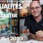 ACTUALITÉS JEUX & KICKSTARTER du 11 JUILLET 2020