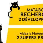 Deux développeurs recherchés par Matagot (pour du portage de jeux de société en ligne)