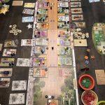 Review de Nevada City en anglais (2-4 joueurs, 14 ans et +, jusqu'à 2h de partie / placement d'ouvriers)