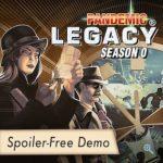 Pandemic Legacy Season 0 en démo en ligne (sans spoiler)