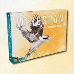 Matagot présente la couverture de Wingspan Océanie (pas de date de sortie encore annoncée)