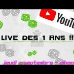 Live 1 an du Meeple Reporter ce soir à 21h sur Youtube