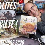 Actualités Jeux & Kickstarter – 19 septembre 2020.