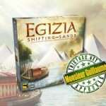Egizia : Shifting Sands sera traduit en VF par Matagot – sortie le 4 décembre 2020 (2–4 joueurs, 14 ans et +, 90 min)