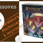 Aeon's End : Séparateurs / Pochettes à imprimer