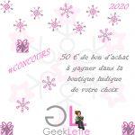 GGA 2020: Jeu de l'année, meilleures illustrations de l'année, meilleure extension… chez GeekLette avec un concours pour gagner 50€ dans votre boutique ludique