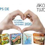 Nos coups de cœur de Octobre à Décembre 2020 en famille sur Akoa Tujou