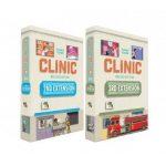 CliniC : Deux nouvelles extensions et un carnet de campagne (en VF, précommande / financement, livraison fin 2021)