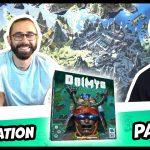 Un monde de jeu : vidéo de Daimyo (avec proto) contenant explication, partie et debrief avec présence de l'éditeur et de l'auteur