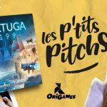 Origames sort une nouvelle série de vidéos : Les p'tits pitchs ! et j'aime beaucoup ! La 3ème vidéo est sur TORTUGA 2199