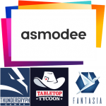 Asmodee USA devient le distributeur de : ThunderGryph, Fantasia et Tabletop Tycoon
