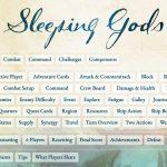 Sleepings Gods : Page de références pour les règles du jeu