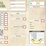 Roll Player : feuille de score en VF façon JDR