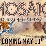 Mosaic A Story of Civilization sur KS le 11 mai, VF assurée par Sylex [2–6 joueurs, 12 ans et +, 90–120 Min]
