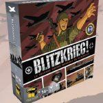 Blitzkrieg arrive très bientôt chez Matagot en VF / 1–2 joueurs, 14 ans et +, 20–45 Min de Paolo Mori, illustré par Alan D'Amico et Paul Sizer
