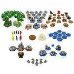 Le set 3D pour Terraforming Mars (tuiles, token, astronautes…)