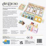 Seconde édition de « Promenade » de Ta-Te Wu chez Rio Grande Games rebaptisé « Art Decko » pour l'occasion (Q4 2021)