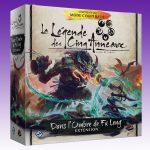 Asmodee annonce la sortie imminente de l'Ombre de Fu Leng, une extension de La Légende des Cinq Anneaux : le Jeu de Cartes
