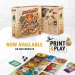Rush Out : print & play maintenant disponible (le jeu sort en Septembre 2021) / 3-5 joueurs, 8 ans et +, 30 minutes