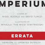 Imperium (legends et classics) : errata sur BGG