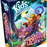Kids Chronicles La Quête des Pierres de Lune : le premier jeu de la gamme Enfant chez Lucky Duck Games  (hybride numérique et narratif pour 7 ans et plus / assimilé à Chronicles of Crime pour les plus jeunes