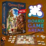 Verona Twist, prochain jeu de Igiari, pour 2 joueurs, abstrait avec 0 hasard, est disponible en accès bêta sur Board Game Arena