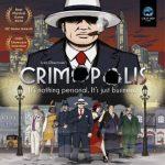 Crimopolis disponible en Anglais (2-5 joueurs, 12 ans et +, jusqu'à 2h – Tuiles, Points d'action, Placement d'ouvriers, Draft)
