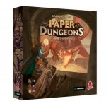 Paper Dungeons (VF) est disponible en précommande / expédition au plus tard début Aout / flip & write à partir de 10 ans /  30 minutes de partie