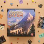 Imperial Steam (pick up and deliver) annoncé chez Capstone Games sera en pré commande le 1er août en anglais (2-4 joueurs, 12 ans et +, 90-120 minutes) (500 boites seulement pour l'europe)