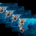 Conspiracy: 5 cartes promo pour renouveler vos parties (objectifs pour scorer les seigneurs adjacents et de même valeur)