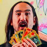 Steve Aoki (producteur de musique et grand fan de Pokemon) va créer son jeu de cartes à collectionner et rejoint la team MetaZoo Games
