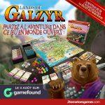Lands of Galzyr en VF grâce à 2 Tomatoes Games et sur Gamefound en financement à partir du 3 aout (narratif, monde ouvert)