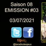 La radio des jeux : S08E03 : Christine Alcouffe & Catch'Up Games (podcast)