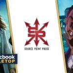"""Asmodee s'intéresse aussi à la BD avec un nouveau partenaire """"Source Point Press"""" (les jeux de société tels que Mysterium, Legends of the Five Rings ou encore Pandemics seront donc adaptés en comic!)"""