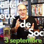 Actualité & jeux de société – 3 septembre 2021