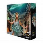 Khora est disponible en précommande avec des pièces en métal supplémentaires (2-4 joueurs, 14 ans et +, 1h30 de partie)