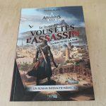 Mathieu Rivero sort un livre dont vous êtes le héros dans la franchise Assassin's Creed : le livre dont vous êtes l'assassin