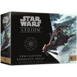 Star Wars : Légion ! Deux nouvelles boîtes de renforts (Droïde Araignée Nain DSD1 & Ornithoptère Raddaugh Gnasp)  pointent le bout de leur emballage et seront disponibles dans quelques semaines.
