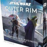 Star wars outer rim son extension, nommée Unfinished Business, sera présentée à la GenCon par FFG