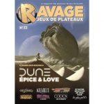 Ravage Hors Série jeux de plateau n°12 est disponible en préco, expédition à partir de vendredi