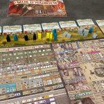 Le test de Mur d'Hadrien, le premier Flip & Write de Bobby Hill chez Pixie Games