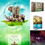 Super Meeple rappelle les VF prévues : Boonlake, Ark Nova, Voidfall, Coffee Traders, Anachrony, Brazil, extension Maracaibo, …