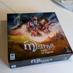 La boite de Jeu aura des protos de Malhya, Lands of Legends à Essen (Stand 5D108)