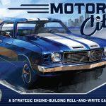 Motor City : un nouveau roll & write pour 2022 / 1–4 joueurs, 12 ans et +, 45–60 Min / même éditeur que fleet the dice game